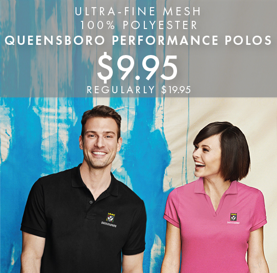 cc50e1ade Get Started Custom Embroidered Queensboro AP3 All-Purpose Performance Polos
