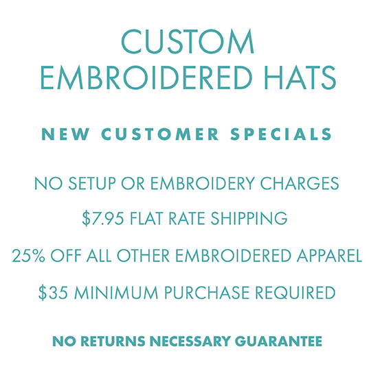 691948dbf Custom Embroidered Hats, Polos & Promo Items - Queensboro