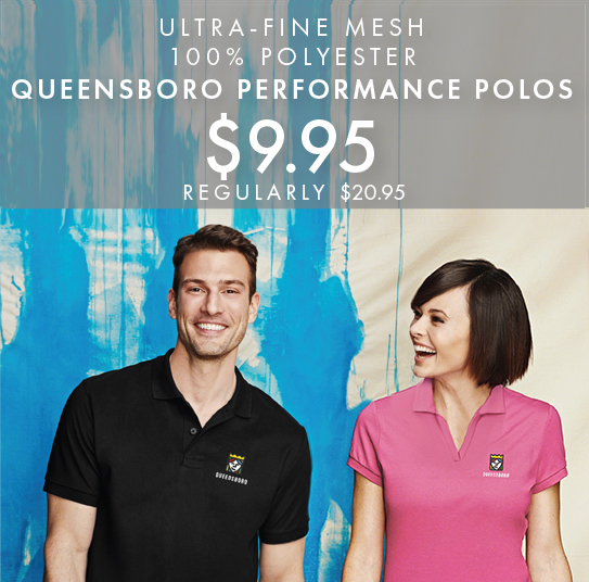 Custom Embroidered Queensboro AP3 All-Purpose Performance Polos